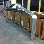 Aluminium Boothuis Frame